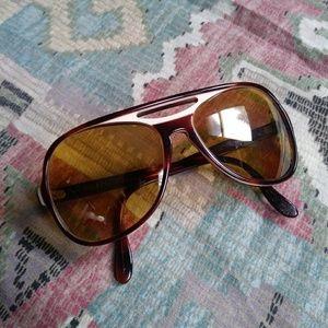 Ray Ban B&L Powderhorn Vintage Sunglasses